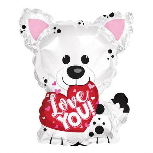 Love You White Puppy 424183